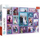 Puzzle Frozen 2 Disney 500 peças