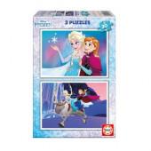 Puzzle Frozen 2 em 1 de 20 peças