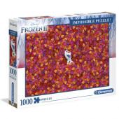 Puzzle Frozen 2 Olaf 1000 peças Impossible