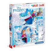 Puzzle Frozen 2x20 peças