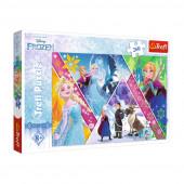Puzzle Frozen Disney 260 peças