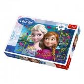 Puzzle Frozen Elsa Anna