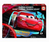 Puzzle grande de 33 peças Cars Disney