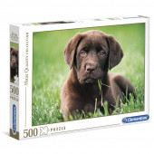 Puzzle High Quality Collection Chocolate Puppy 500 peças