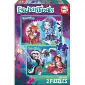 Puzzle Infantil 2x20 Enchantimals