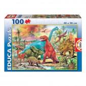 Puzzle Junior 100 Dinossauros