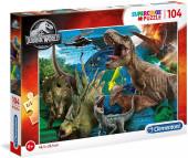 Puzzle Jurassic World 104 peças