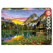 Puzzle Lago Alpino 5000 peças