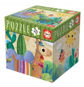 Puzzle Lamas 48 peças