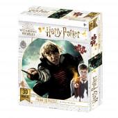 Puzzle Lenticular 300 peças Ron Weasley Harry Potter