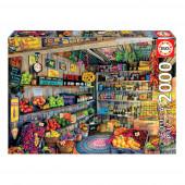 Puzzle Loja de Comestíveis 2000 peças