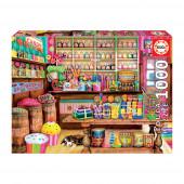 Puzzle Loja de Doces 1000 peças