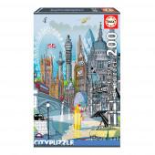 Puzzle Londres City 200 peças
