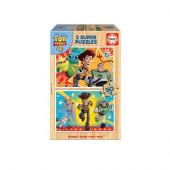 Puzzle Madeira 2x50 peças Toy Story 4