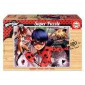 Puzzle Madeira Ladybug 100 peças