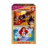 Puzzle madeira Princesas Disney - 25 peças