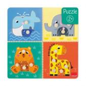 Puzzle Mães e Bebés Animais Goula