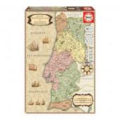 Puzzle Mapa Histórico de Portugal 500 peças