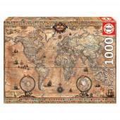 Puzzle Mapa Mundi 1000 peças