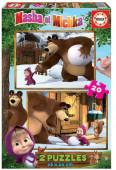 Puzzle Masha e o Urso 2x20 peças