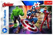 Puzzle Maxi Avengers Marvel 24 peças