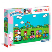 Puzzle Maxi Hello Kitty 104 peças