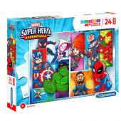 Puzzle Maxi Marvel Super Hero 24 peças