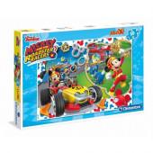 Puzzle Maxi Mickey Racers 30 peças