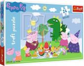 Puzzle Maxi Porquinha Peppa Pic Nic 24 peças