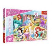 Puzzle Maxi Princesas Disney 24 peças