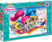 Puzzle Maxi Shimmer and Shine 30 peças