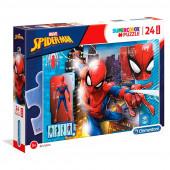 Puzzle Maxi Spiderman Marvel 24 peças