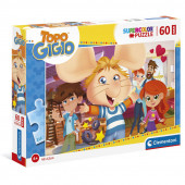 Puzzle Maxi Topo Gigio 60 peças