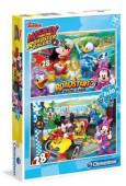 Puzzle Mickey Super Pilotos 2x20 peças