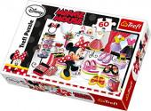 Puzzle Minnie às Compras 60 peças