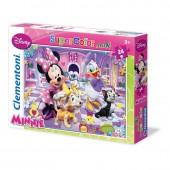 Puzzle Minnie Disney com 24 peças