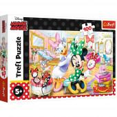 Puzzle Minnie e Margarida 100peças