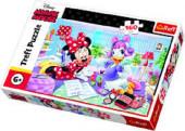 Puzzle Minnie e Margarida 160 peças