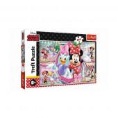 Puzzle Minnie e Margarida 260 peças