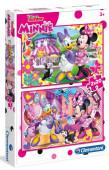 Puzzle Minnie Happy 2x20 peças