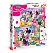 Puzzle Minnie Happy Helper 2x20 peças