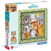 Puzzle Moldura Animais Disney 60 peças