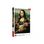 Puzzle Mona Lisa com Gato 500 Peças