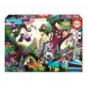 Puzzle Mysterious Bosque Mágico 200 peças