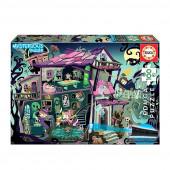 Puzzle Mysterious Casa Encantada 100 peças