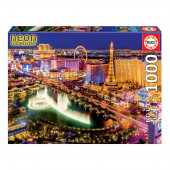 Puzzle Neon Las Vegas 1000 peças