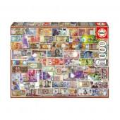 Puzzle Notas do Mundo 1000 peças