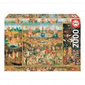 Puzzle O Jardim das Delícias 2000 peças
