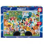 Puzzle O Maravilhoso Mundo da Disney 1000 peças