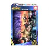Puzzle Os Vingadores Guerra Infinita 500 peças